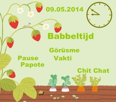 Babbeltijd - Chit chat - Pause Papote | 09/05 @ Koningin-Groenpark