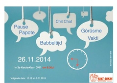 Chit Chat - Babbeltijd | 26 november